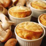 Мясное суфле с грибами